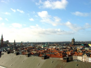 The view from the Tårnet.